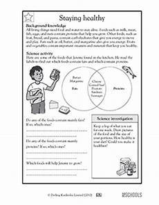 3rd grade 4th grade science worksheets staying healthy greatschools
