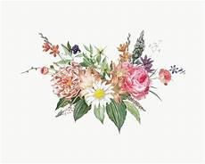 Bouquet De Fleurs Mixtes T 233 L 233 Charger Des Vecteurs