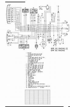 wiring diagrams for derbi aprilia and more gpr c replica racers