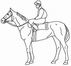 Malvorlage Pferd And Rider Coloring Pages At Getcolorings Free