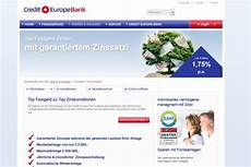 festgeld mercedes bank credit europe bank festgeldkonto festgeldexperte