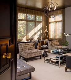 meets modern modern living room
