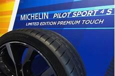 pilot sport 4s michelin quot premium touch quot offers new design look for pilot sport 4 s