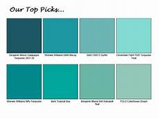 turquoise paint color chart 17 best images about turquoise home decor pinterest