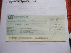 delai pour un cheque de banque credit agricole