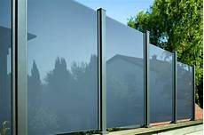 Wind Und Sichtschutz Modell Glarus Pfosten In