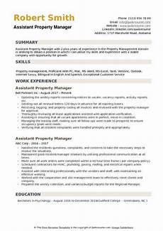 resume sumary property manager assistant property manager resume sles qwikresume