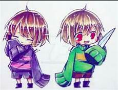 cute chara and frisk undertale amino