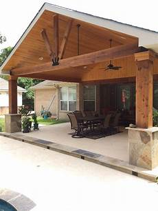 backyard paradise magnolia tx united states gable roof patio cover attached outdoors