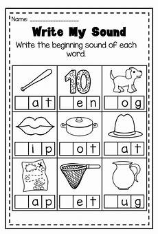 phonics worksheet bundle pre k kindergarten