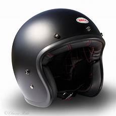 casque jet bell bell custom 500 matte black casque moto jet vintage biker