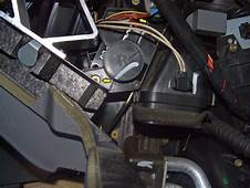 Service Manual How To Replace Blend Door Motors In A