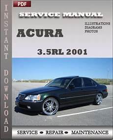 service repair manual free download 2001 acura tl parking system acura 3 5rl 2001 service repair manual repair service manual pdf