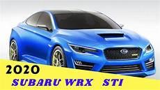 Wow Amazing 2020 Subaru Wrx Sti