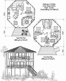 piling house plans two story piling collection pgt 0304 1600 sq ft 4