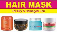best hair masks for dry damaged hair top 10 best hair mask for dry damaged hair in india youtube