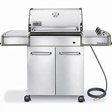 weber genesis s 310 stainless steel gas grill