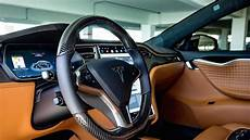 interior model e tesla porsche if you want leather in your tesla this tuner can accommodate