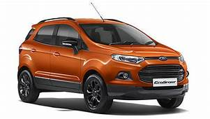Ford EcoSport Black Edition Launched In India At Rs 858