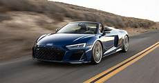 2020 audi r8 spyder offers v10 performance with the wind