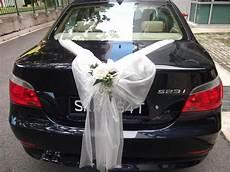 bmw 523i saloon wedding car decorations wedding car