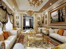 Desain Interior Ruang Tamu Klasik Arcadia Design Architect