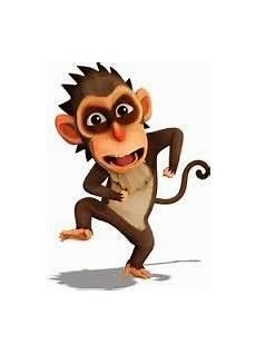 Gambar Kartun Monyet Lucu Dunia Dan