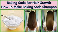 Haare Waschen Mit Natron - baking soda for hair growth how to make baking soda