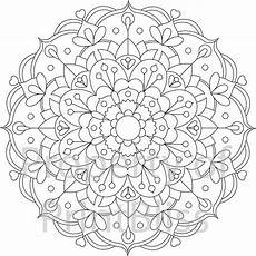 mandala coloring pages printable 17993 23 flower mandala printable coloring page by printbliss on etsy mandala coloring pages