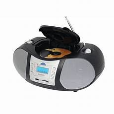 usb cd player boytone 97097166m portable system with cd player and