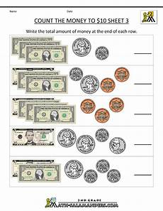 printable money worksheets for 5th grade 2737 2nd grade math worksheets money free counting money worksheets count the money to 10 dollars 3
