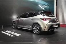 2018 Toyota Auris Hybrid Rear Three Quarters At The 2018