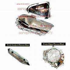 Jual Variasi Motor by Jual Aneka Variasi Motor Murah Aksesoris Beat Cover Chrome