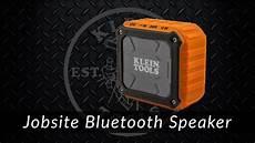 klein jobsite bluetooth speaker