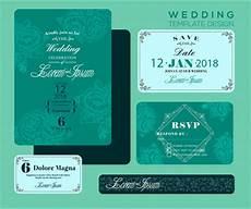 farewell card templates cdr editable wedding invitations free vector 3 825