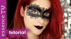Maske Make Up Tutorial Schnell Und
