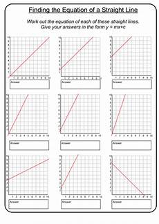 equations of straight lines by prescotmaths teaching resources tes