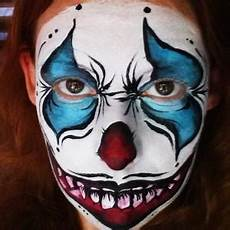 How To Paint A Scary Clown Facepaint