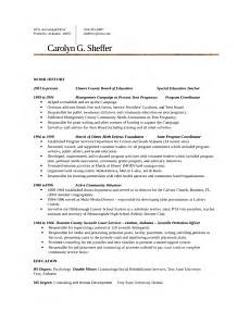 executive juvenile probation officer resume template