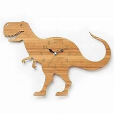 dinosaurier uhr t rex moderne wanduhr kinder uhr laser