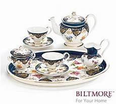 Vanderbilt Porcelain Miniature Teaset