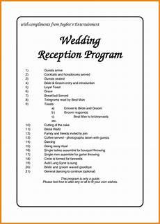 nigerian wedding reception program wedding reception program wedding reception timeline