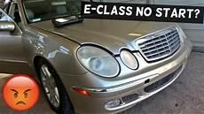 Mercedes W211 No Start Fuel Problems E200 E230 E240 E280