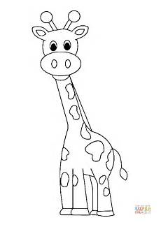 Giraffe Comic Malvorlagen Giraffe Coloring Page Free Printable Coloring Pages