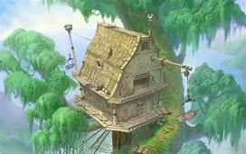 Treehouses Trees Kingdom Hearts Tarzan Video Games