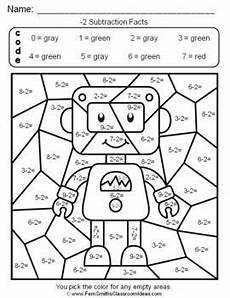 2nd grade color by number worksheets 16103 2nd grade go math 3 4 practice subtraction facts color by numbers go math math subtraction