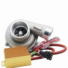 Electric Turbo Supercharger Thrust Motorcycle Turbocharge