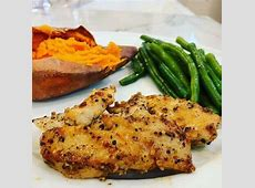 Maple Glazed Chicken with Sweet Potatoes image