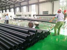 china size diameter 4 inch sewage hdpe pipe standard length rolls 4 inch full form water supply