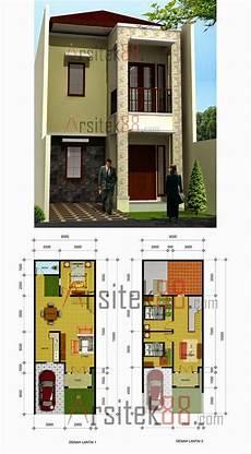 35 Desain Rumah Minimalis Ukuran 5x10 Desain Rumah Minimalis